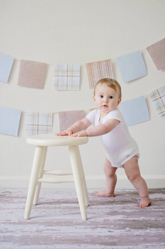 Baby Learning to Stand Up