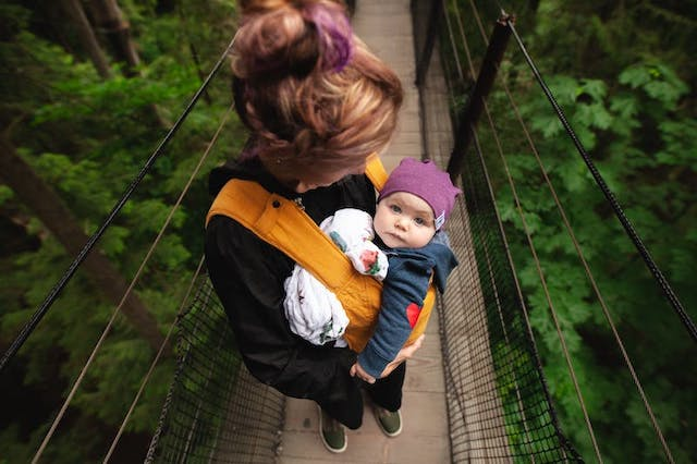 traveling with an infant sleep training
